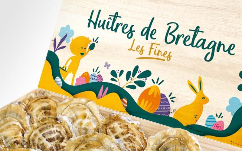 Nos huîtres de Bretagne célèbrent le Printemps